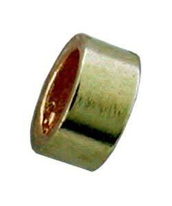 585F-49 = Gold Filled Crimp Tube 2mm with 1mm Hole (Pkg of 50)