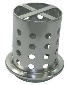 21.706 = FLASK for CASTING PERFORATED 4'' DIA x 5 3/4'' H