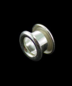 590FS-01 = Flared Bead Core 1/8'' with NO THREADS FINE SILVER (4pcs)