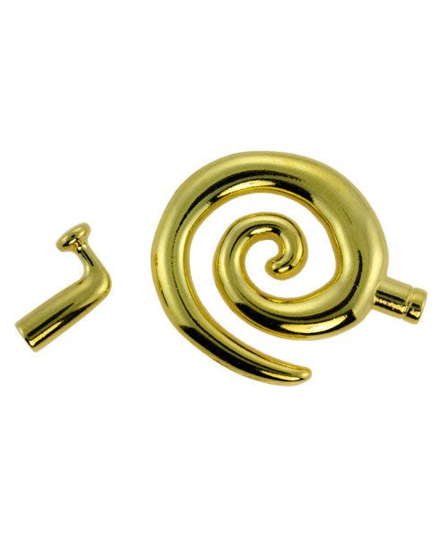 6000GP-02 = KUMIHIMO LARGE GLUE IN SWIRL TOGGLE GOLD PLATED