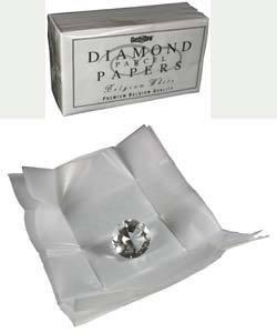 61.0575-25 = DIAMOND PAPER WHITE/WHITE (Pkg of 25)