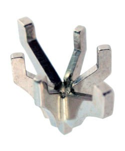 740-1 = Marquise 6 Prong Tiffany Peg Head 10x5.75mm 14KW
