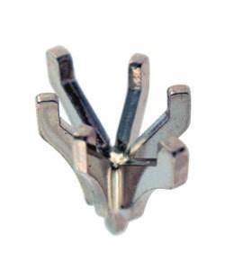 740-5/8 = Marquise 6 Prong Tiffany Peg Head 8.5x5mm 14KW