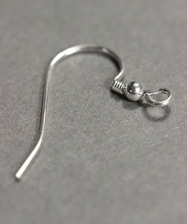 803S-05 = Earwire 21mm Long Sterling Silver .030'' Wire (Pkg of 10)
