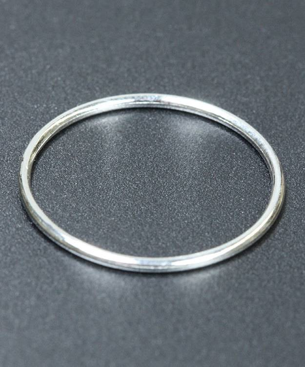 870S-7 = Sterling Silver 1mm Stacking Ring Size 7 (Pkg of 3)