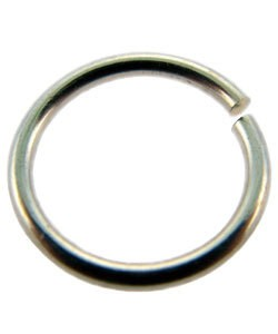 900S-13255 = Open Jump Ring Sterling Silver 13.2mm ID x .055'' (15ga) (EACH)