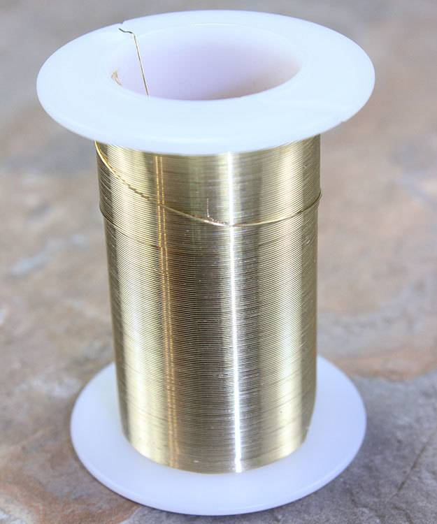 WR6028G = Tarnish Resistant Craft Wire Gold Color 28ga - 40yd Spool