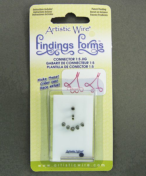 WR136 = Findings Forms by Artistic Wire, Connector 1:5  Jig