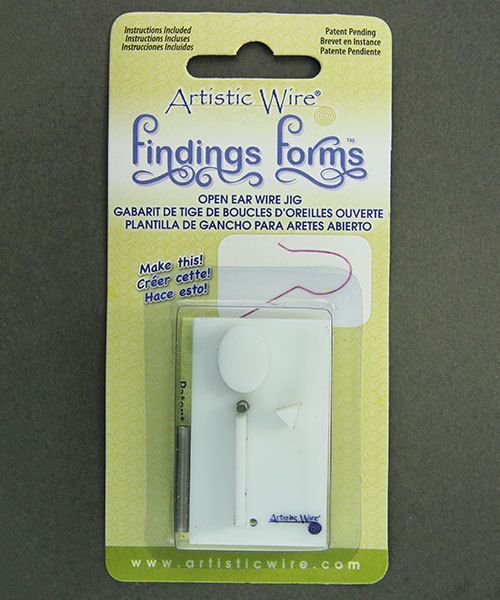 WR134 = Findings Forms by Artistic Wire, Open French Ear Wire Jig