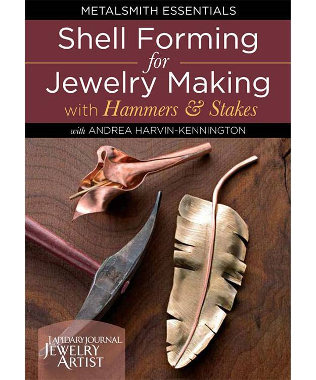 VT3052 = DVD - Shell Forming for Jewelry Making with Hammers & Stakes
