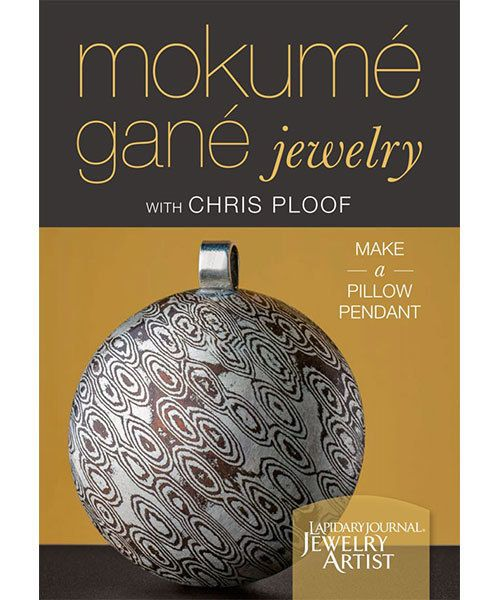 VT3044 = DVD - Mokume Gane Jewelry: Make a Pillow Pendant
