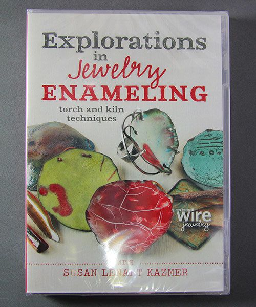 VT3039 = DVD - Explorations in Jewelry Enameling with Susan Lenhart Kazmer