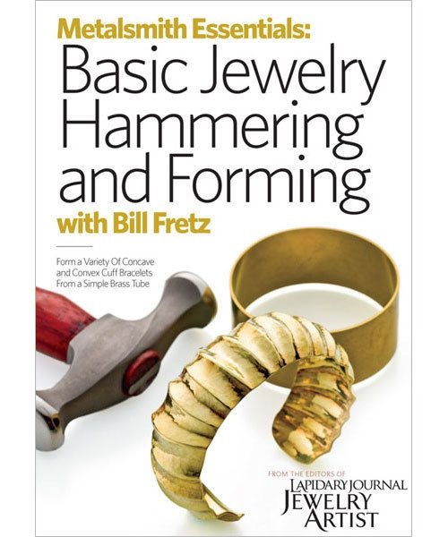 VT3006 = DVD - METALSMITH ESSENTIALS: BASIC JEWELRY HAMMERING and FORMING