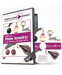 VT2530 = DVD - LEARN TO MAKE JEWELRY: WIRE, FINISHING and DESIGN BASICS **CLOSEOUT**