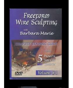 VT2495 = DVD - FREEFORM WIRE SCULPTING