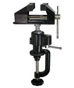 VS9641 = VISE CLAMP ON WITH BALL SWIVEL- 3'' JAWS