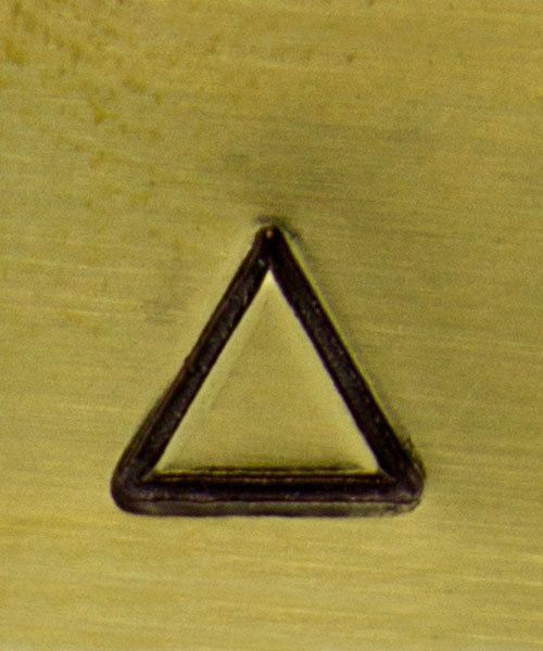 PN5036 = CONTEMPORARY DESIGN STAMP - Triangle