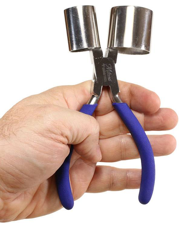 PL7113 = Miland Double Cylinder Ring Pliers 1'' & 1-3/8''