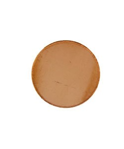 MSC10224 = COPPER SHAPE - ROUND 1/2'' dia (24ga) (Pkg of 72)