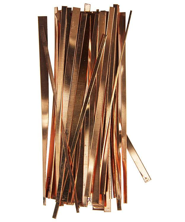 MSC1000 = Scrap Copper Strips 1/2lb