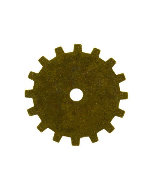 MSBT56424 = Trinity Brass Spoke Gear 19mm Vintage Patina (Pkg of 6)