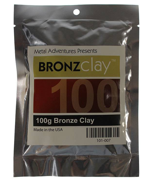 MCB100 = BRONZclay 100g Package
