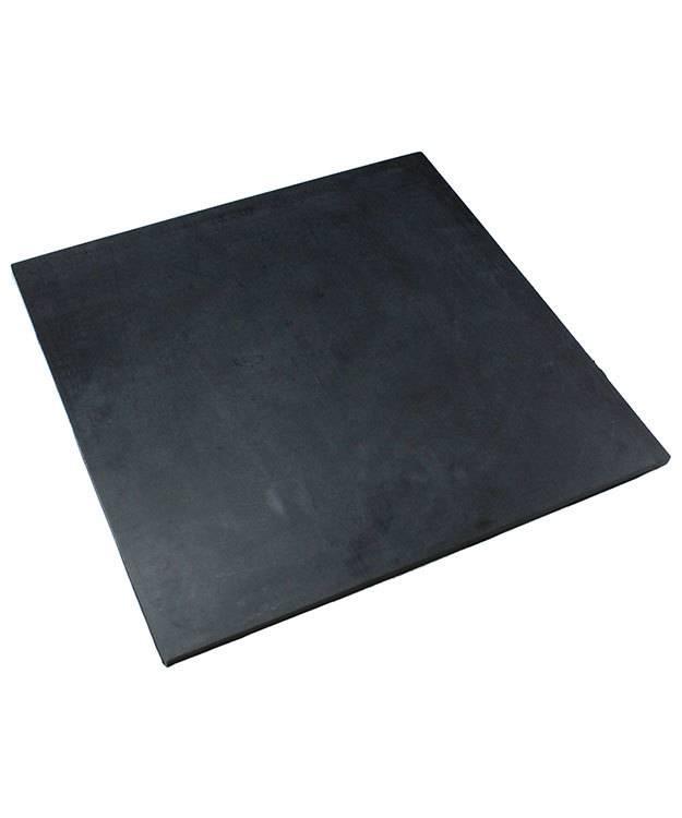 AN500 = Heavy Duty Rubber Mat by Eurotool  12''x12''x1/4''