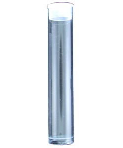 BO222 = Round Plastic Storage Tube 3 ''x 9/16''' (Pkg of 10)