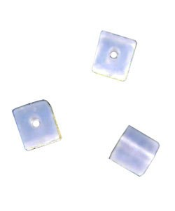 5140CC-92 = Bead Bumper 1.7mm CUBE CLEAR (Pkg of 50) **CLOSEOUT**