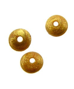 5140CG-91 = Bead Bumper 2.0mm OVAL GOLD (Pkg of 50)