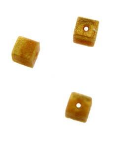 5140CG-92 = Bead Bumper 1.7mm CUBE GOLD (Pkg of 50) **CLOSEOUT**