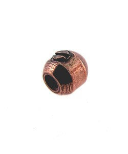 585CP-84 = Beadalon Scrimps 3.5mm Oval Copper Plated (Pkg of 10)