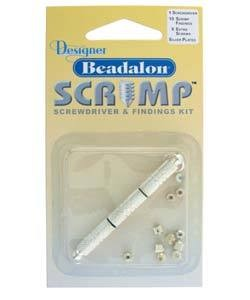 585CW-80 = Beadalon Scrimps Kit Silver Plated **CLOSEOUT**