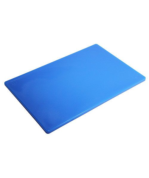 "AN420B = Polyethylene Work Surface - Blue  12"" x 18"" x 1/2"""