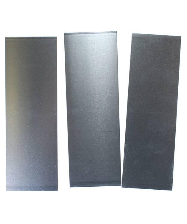 """AS20-2 = Aluminum Sheet 20ga  2"""" x 6"""" 0.81mm Thick (Pkg of 3)"""