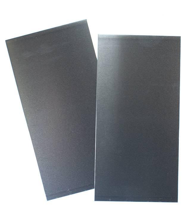 """AS20-3 = Aluminum Sheet 20ga  3"""" x 6"""" 0.81mm Thick (Pkg of 2)"""
