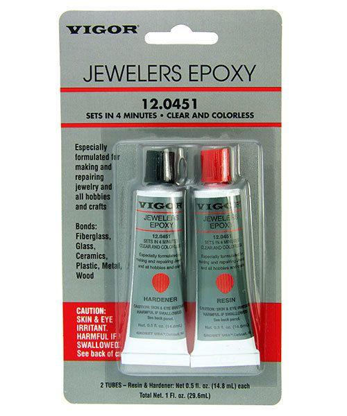 12 0451 Jeweler S 2 Part Epoxy 5min Setting 1oz