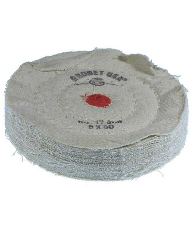17.206 = BUFF - COTTON FLANNEL 5''x30 PLY