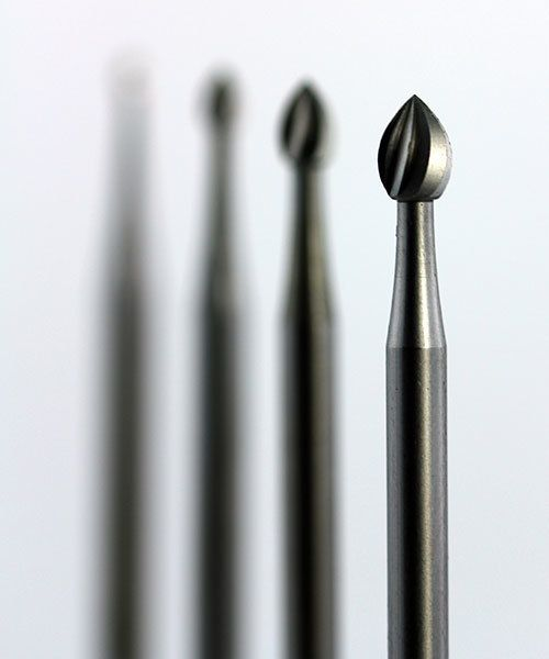 18.116G = Bud Bur Set Tungsten/Vanadium (0.9 to 3.1mm) 12pcs