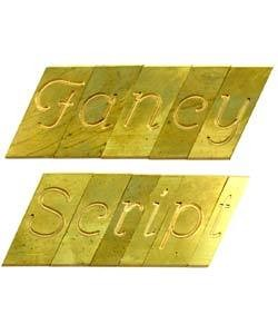 26.6604 = ENGRAVING TYPE FANCY SINGLE LINE SCRIPT