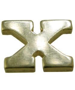 365-X = INITIAL X 5MM 14ky