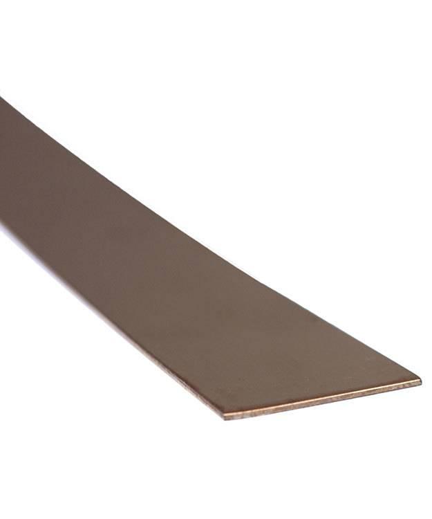 "CS18-1 = Copper Sheet 18ga 1"" x 6"" 1.02mm Thick (Pkg of 3)"