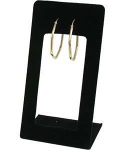 """DER1149 = Value Velvet Earring Stand Open Front 2-3/8"""" x 4-1/2"""" H (Pkg/3)"""