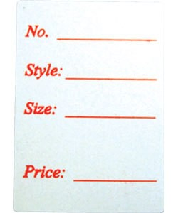 "DTA2794 = Adhesive Labels ""STYLE"" 1-1/8"" x 1"" (Pkg of 500)"