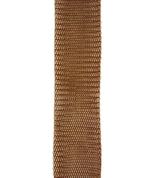 WR4025 = Artistic Wire Mesh 18mm WIDE / 1 Meter Length BROWN COLOR **CLOSEOUT**