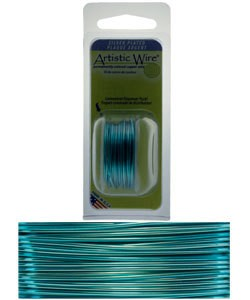 WR26618 = Artistic Wire Dispenser Pack SP ICE BLUE 18ga 4 Yards