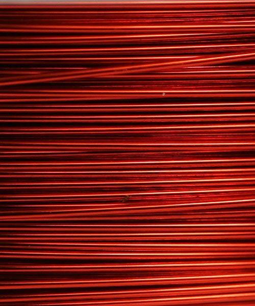 WR26128 = Artistic Wire Dispenser Pack SP TANGERINE 28ga 15 Yards
