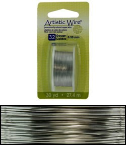 WR23832 = Artistic Wire Dispenser Pack Stainless Steel 32ga (30 yds)