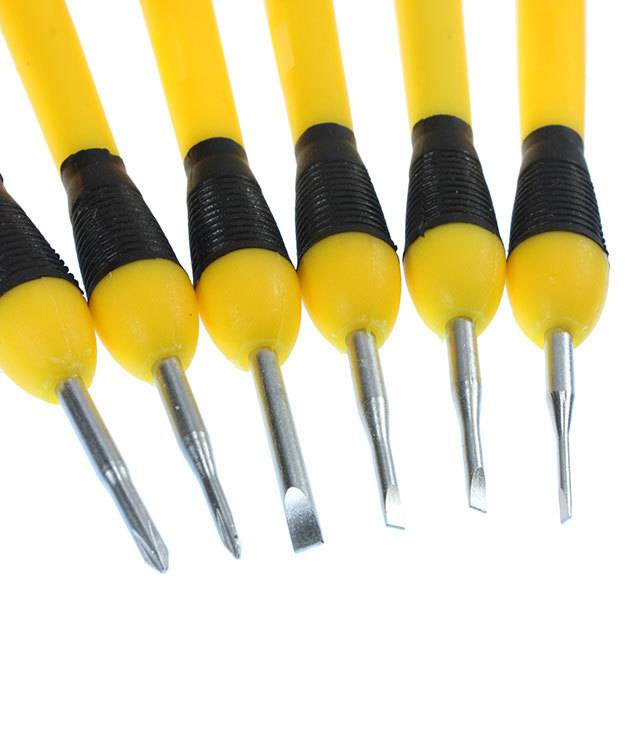 SD1111 = Economy 6pc Screwdriver Set in Storage Box