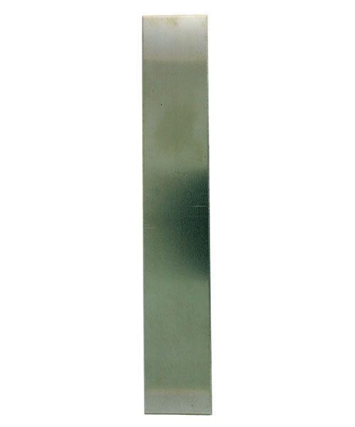 "NS22-1 = Nickel Silver Sheet  22ga   1"" x 6"" .64mm Thick  (Pkg of 3)"